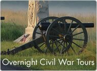 Overnight Civil War Tours